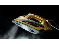 JML Phoenix Gold Continuous Steam Iron With Ceramic Sole Plate & Contactless Ironing. BRAND NEW £25