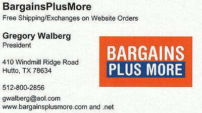 Bargains Plus More