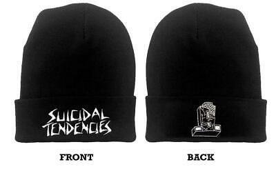 Logo Knit Cap - SUICIDAL TENDENCIES Logo Beanie *Official* Knit Hat Cap