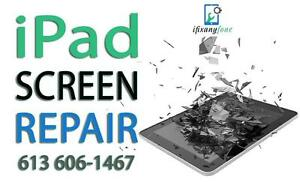 iPad Screen Repair - iPad 2 - iPad 3 - iPad 4 - iPad Mini - iPad Air - iPad Digitizer Replacement - We Come To You