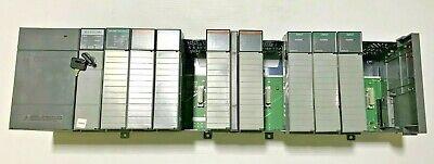 Allen-bradley Slc 500 13 Slot Rack W 503 Cpu And Io Modules