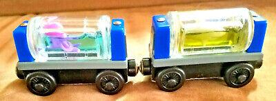 Sodor Aquarium SHARK & OCTOPUS Cars Thomas the Train and Friends Wooden Railway