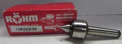 Rhm 42315 Type 604h Basic Tool Steel Standard Revolving Tailstock Center