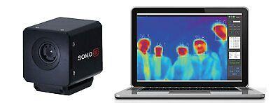 Somoir Sm080tiph Non-stop Group Temperature Screening Thermal Camera