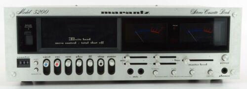 Marantz Model 5200 Stereo Cassette Deck - Great Condition