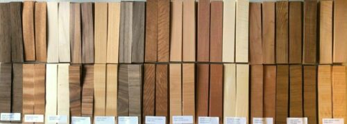ELITE VARIETY 180 pieces 2/5 CROSS CUT Fingerboard Wood Veneer sized skateboard