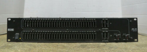 Rane ME 60 30-Band Two Channel 1/3-Octave Constant-Q MicroGraphic Equalizer