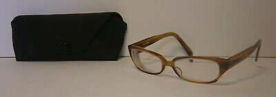 Paul Smith Spectacles Womens Eyeglass Frame Case Glasses Brown 54016-138 PS-251