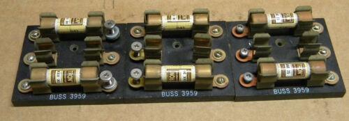 (3) Buss 3959 Fuse Blocks