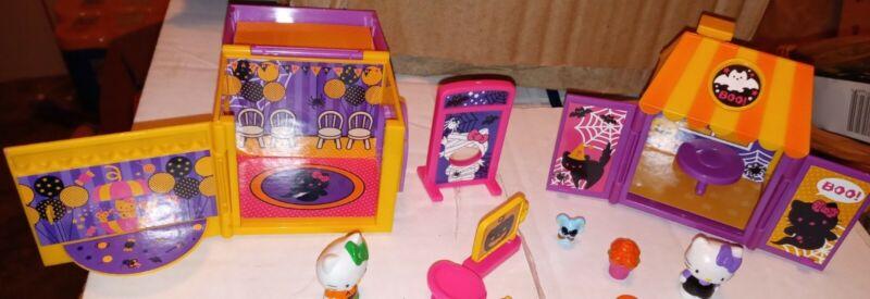 Lot Of Hello Kitty Halloween Playsets