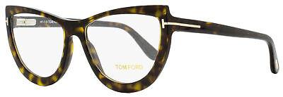 Tom Ford Oval Eyeglasses TF5519 052 Dark Havana 55mm (Eyeglasses Tom Ford)