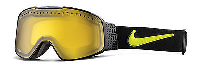 Nike Fade Snow Goggles Black Cyber Frame/Transitions Yellow Lens