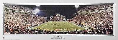 CLEMSON UNIVERSITY DEATH VALLEY Stadium Panoramic by Rob Arra (Print Only) Clemson Death Valley Stadium