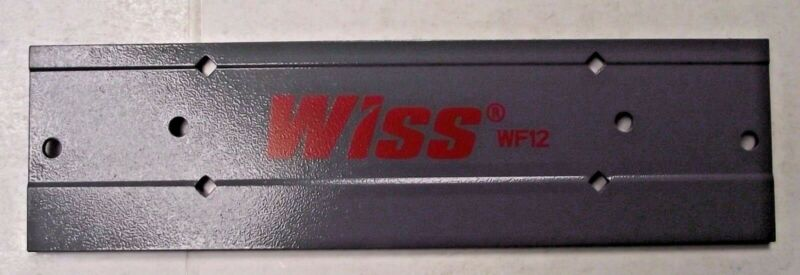 "Wiss WF12 12"" Sheet Metal Folding Tool Folds 3/8"" & 1"" Depth"
