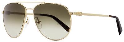 Salvatore Ferragamo Aviator Sunglasses SF157S 717 Gold Havana 60mm (Havana Aviator Sunglasses)