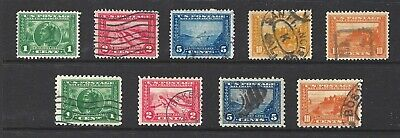 U.S. SC.#397-404 1913 PAN-PACIFIC PERF.12 & PERF. 10 SETS-USED-CAT $153.00