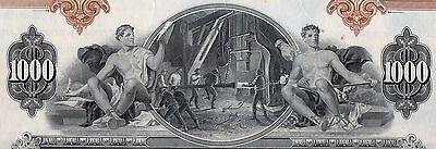 1958 United States Steel Corporation Bond Stock Certificate