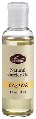 CASTOR Pure Carrier Oil 4oz Base Aromatherapy, Essential Oil or Massage B3G1 1 Essential Massage Oil