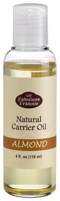ALMOND Pure Carrier Oil 4oz Base Aromatherapy, Essential Oil or Massage B3G1