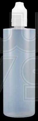 10 PCS 120ml EMPTY PLASTIC SQUEEZABLE LIQUID DROPPER LDPE BOTTLE BOTTLES USA