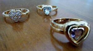 Four Sterling Silver Rings, Individual or Pair Can be Nested Kitchener / Waterloo Kitchener Area image 3