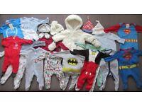 HUGE winter baby boy clothes bundle 0-3 months
