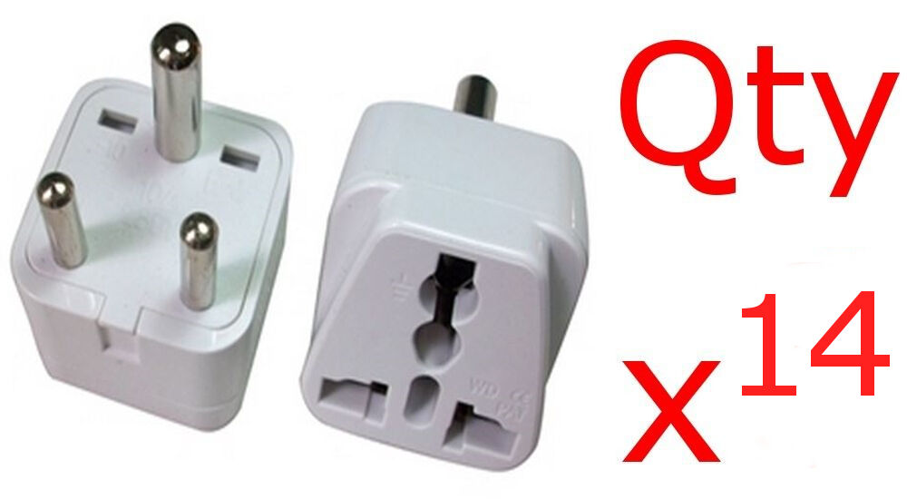 India 14pk Adapter Plug Charger Converter Us American To ...
