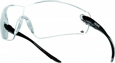 Bolle Cobra Safety Glasses - Anti Mist / Scratch - COBPSI - Clear Lens ()
