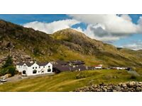 YHA Snowdon Pen-y-Pass Working Holiday 22-26 January 2018