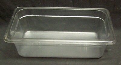 Restaurant Equipment Bar Supplies 13 Size Clear Food Pan 4 Deep