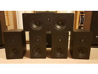 SVS Home Theatre System Speakers 5.0 package (SBS-01, SCS-01)