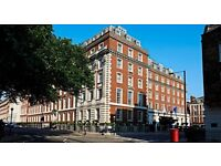 Receptionist at the 5* London Marriott Grosvenor Square