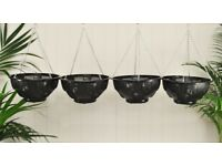 4x hanging baskets (please view pics)