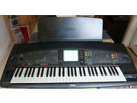 YAMAHA PSR-8000 Keyboard / Arranger / Synthesizer - 61 Full keys, manual, music stand, mains lead
