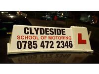 Clydeside school of Motoring/driving lessons -------2 hours for £25