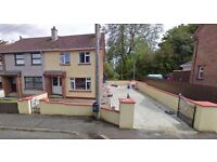 3 Bedroom semi detached house with large driveway