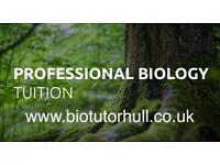GCSE / A Level Biology Tutor