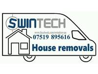 REMOVAL SERVICES from £10 in SWINDON HOUSE OR FLAT from £30 MAN AND VAN
