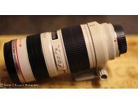 Canon EF 70-200mm f2.8 USM L series Lens