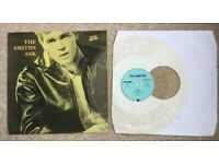 "The Smiths ASK Clear Vinyl 12"" TELDEC ZENSOR 6.20676 Morrissey 1986 Limited Ed"