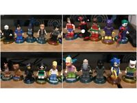 MASSIVE XBOX ONE LEGO DIMENSIONS JOBLOT- 26 FIGURES /26 VEHICLES/ BATMAN STORY PACK