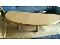 Ikea Gallant Desk Monitor Stand in Beech
