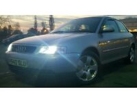 1997 R REG AUDI A3 1.8 TURBO MODIFIED REMAPPED TAX & TESTED ***BARGAIN***