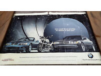 James Bond 007 Tomorrow Never Dies BMW A2 Size Original Poster 594 x 420 mm RARE COLLECTABLE ITEM