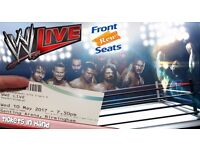 2x WWE Live Ringside tickets