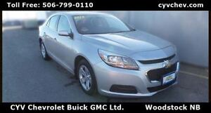 2015 Chevrolet Malibu LS Sedan - Alloy Wheels & Bluetooth - $53/