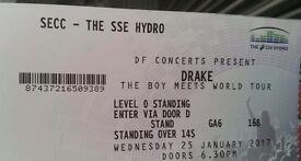2x standing Drake tickets! !!