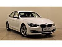 BMW 3 SERIES 2.0 318D SE 4d 141 BHP + SAT/NAV + BLUETOOTH + EXC (white) 2013