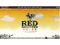 2 x Adult weekend passes for Red Rooster festival