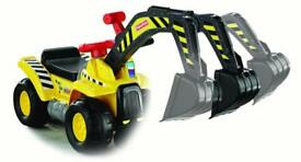 Fisher Price Ride On Digger